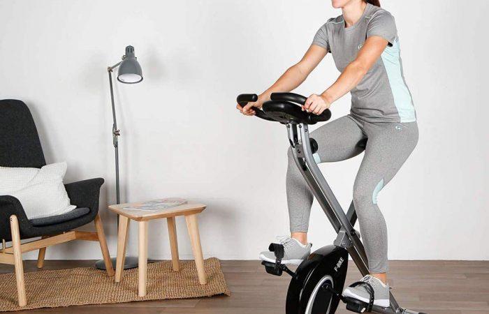 vélo d'appartement pliable